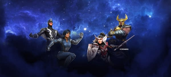 """The Asgardians & Inhumans Come Together In """"Marvel Strike Force"""""""