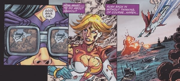 Power Girl's Boob Window Is Back