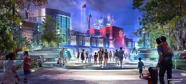 Disney's Avengers Initiative Launching Global Park Presence