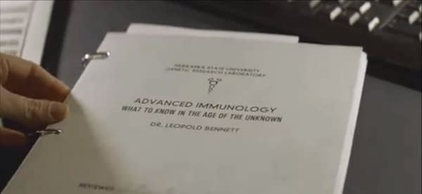 The Walking Dead: World Beyond had an end credits scene in episode 6 (Image: screencaps)