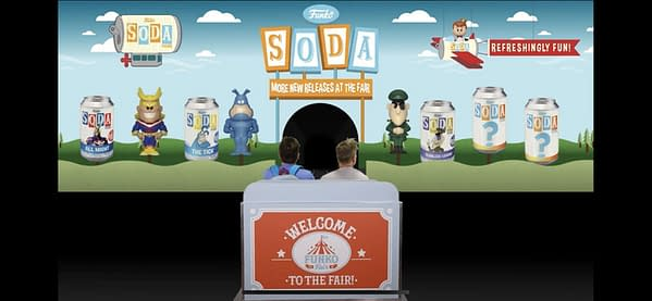 Funko Fair FUN TV Reveals New Funko Soda's On The Way