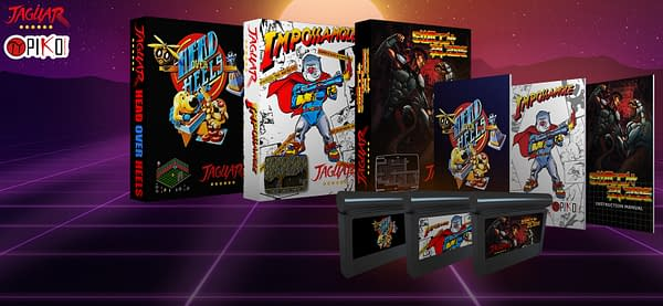 A look at all three Atari Jaguar titles being released, courtesy of Funstock.