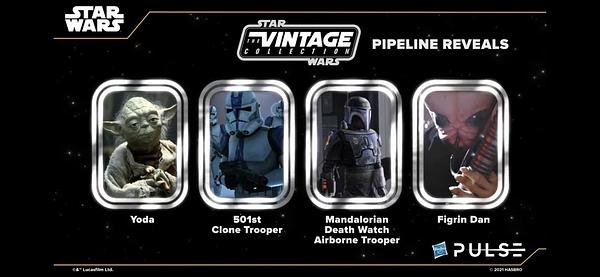 Hasbro Teases Upcoming Star Wars Black Series and Vintage Figures