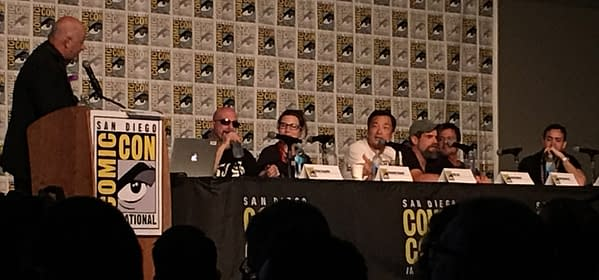 The DC Masterclass Panel Welcomes Latecomers, From Dan DiDio To Greg Capullo To Frank Miller