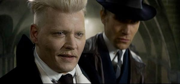 "Harry Potter Creator J.K. Rowling ""Genuinely Happy"" to Have Johnny Depp as Grindelwald"