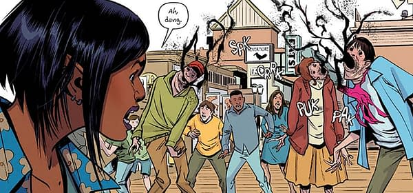 Grumble #1 Review: Aliens, Demons, and Talking Dogs, oh My!