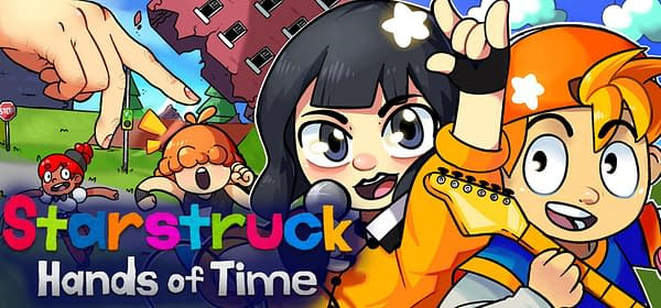 Starstruck: Hands Of Time is coming to PC and PlayStation, courtesy of Createdelic.