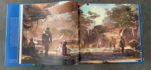 Star Wars The Art Of Galaxy's Edge Transports You To Another World