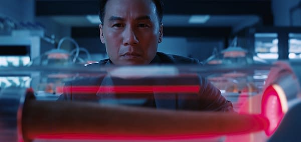 BD Wong as Dr. Henry Wu in Jurassic World: Fallen Kingdom. Image courtesy of Universal