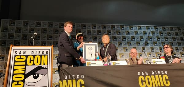 Superman Receives Guinness World Record for Longest-Running Superhero Comic at SDCC