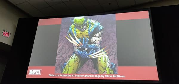First Look at Steve McNiven's Interior Artwork for Return of Wolverine #1