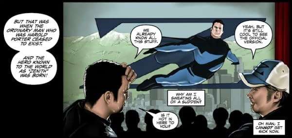 REVIEW: Hero Worship #1 by Zak Penn and Michael DiPascale