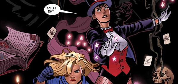 Could Zatanna Be Brian Michael Bendis's First DC Comic?