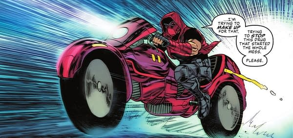 Batman Helping Out Red Hood, A Confessed Murderer?