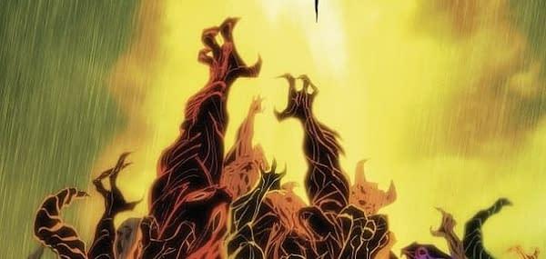Dark Ark #5 cover by Juan Doe