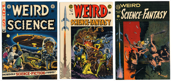 The possibilities of the EC Comics library are endless, courtesy of Renegade Game Studios.