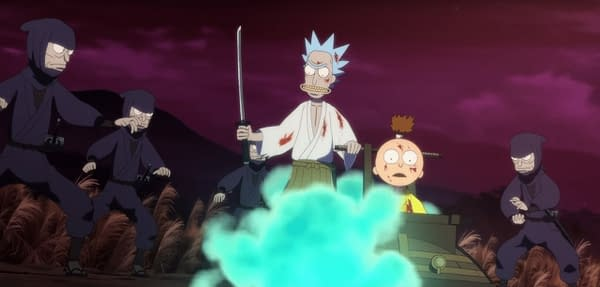 Rick and Morty will see more anime adventures in its future (Image: Adult Swim screencap)