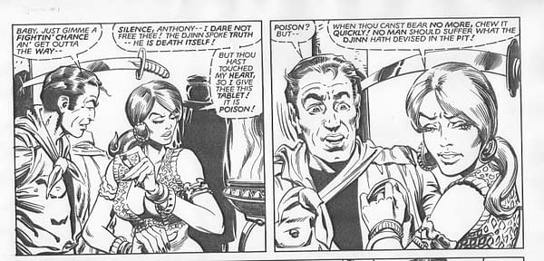 Richard Howell on How He Got a Page of Steve Ditko's Artwork