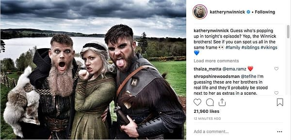 Katheryn Winnick Says [SPOILERS] Are In Tonight's 'Vikings' Episode!