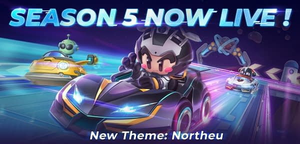 Check out the new Northeu theme inside KartRider Rush+ for Season 5, courtesy of Nexon.