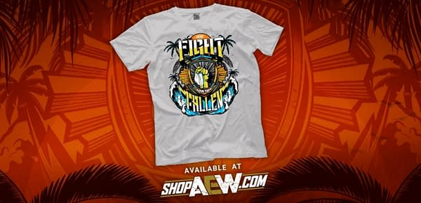 Sales of AEW's Fight for the Fallen t-shirt will benefit COVID-19 relief.
