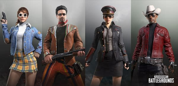 PUBG to Get '70s and '80s Fashion in Tomorrow's New Cosmetic Crates