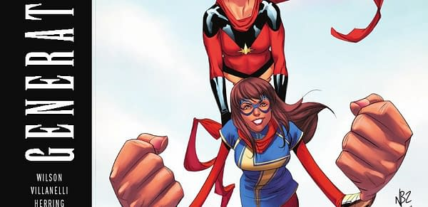 Cover to Generations: Ms. Marvel #1 by Nelson Blake II and Rachelle Rosenberg