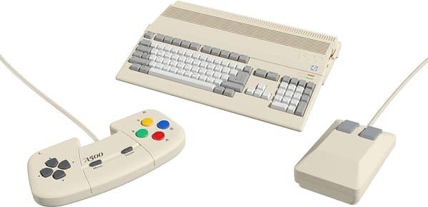 Un aperçu de l'A500 Mini, gracieuseté de Retro Games Ltd.