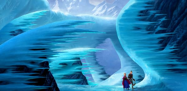 Disney Officially Releases New Frozen Concept Art – UPDATED With Better Look At Characters