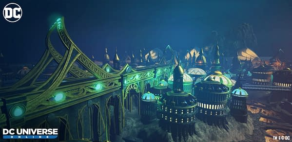 Daybreak Games Announces Atlantis is Coming to DC Universe Online