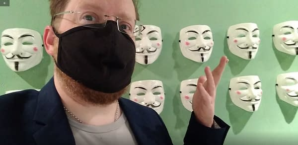 Video Preview: The London Cartoon Museum's V For Vendetta Exhibition