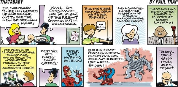 Thatababy Reboots The Spider-Man Reboot