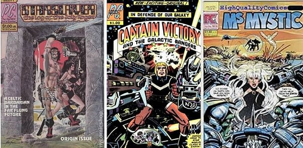 How Pacific Comics Sold Six Figures of Their Launch Titles