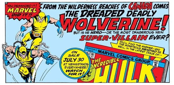 Thor #229 Gets a Facsimile Edition... Because of It's Wolverine Significance