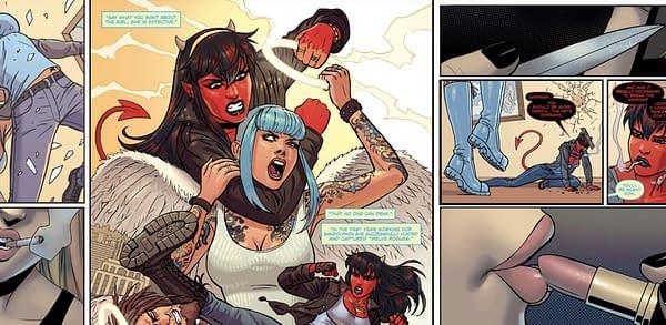 Mercy Sparx artwork. Credit: Devil's Due Comics
