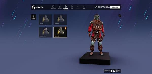 Rainbow Six Siege Customizer Gets New Operators and Halloween Skins