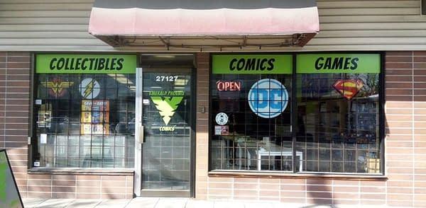 Emerald Phoenix Comics of British Columbia Can't Make Rent.