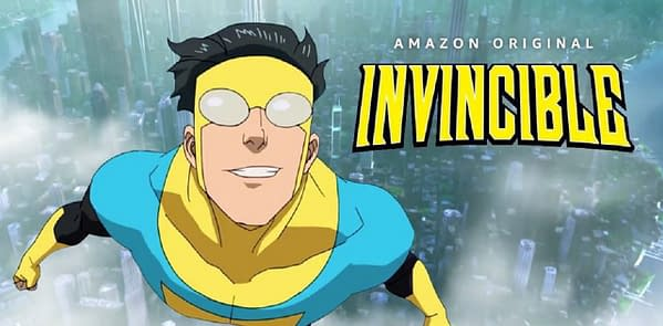 Invincible is coming soon from Amazon Prime (Image: Skybound/Amazon Prime)