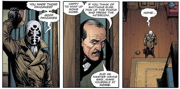 Setting The Scene For The Magic Trick Of Batman #77