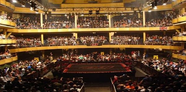 A previous Ring of Honor event at the Hammerstein Ballroom