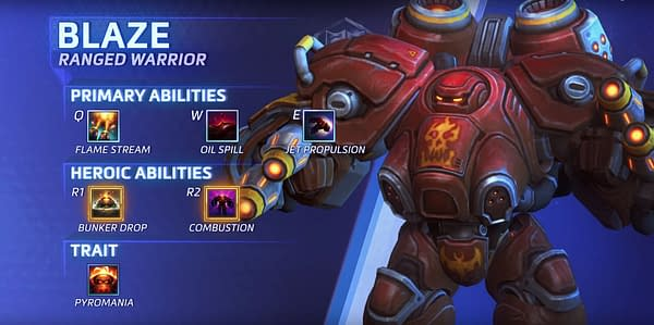 Blaze Gets a Spotlight for His Heroes of the Storm Debut