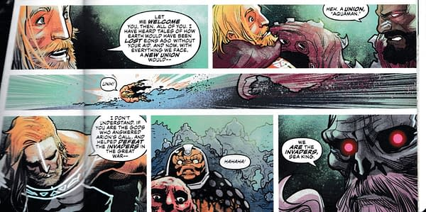 So Who Wrote These Words in Justice League and Aquaman: Drowned Earth? (Spoilers)