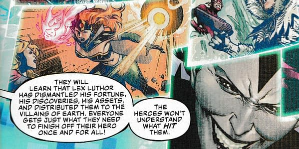Apex Lex Luthor as a Messianic Monster in DC's Year Of The Villian (SPOILERS)