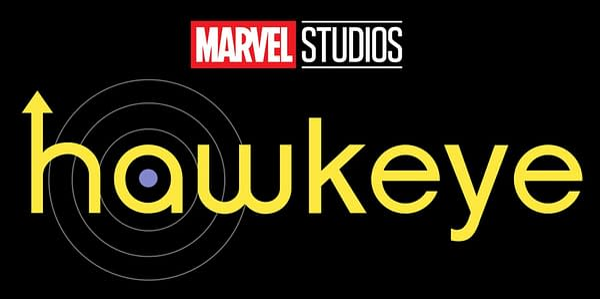 Hawkeye logo (Image: Disney+/Marvel Studios)