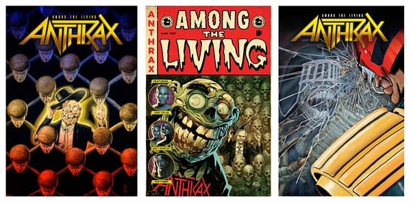 Anthrax's Charlie Benante and Scott Ian on Their New Z2 Graphic Novel