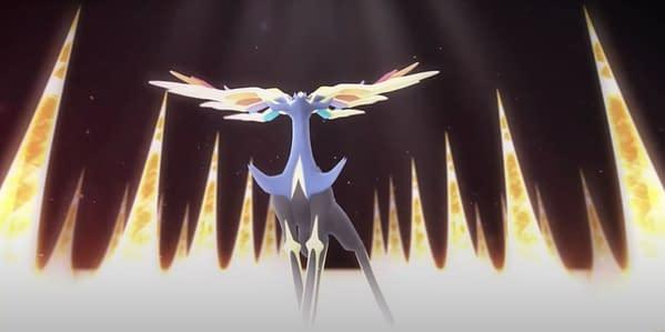 Xerneas in Pokémon GO. Credit: Niantic