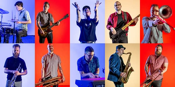 Various glamour shots of the ska-punk band Big D and the Kids Table. Their next album,Do Your Art, is their first in almost 10 years. Photo credit: Mark Stern