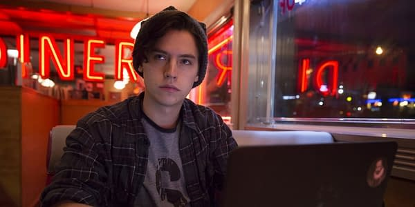 Cole Sprouse as Jughead Jones on Riverdale