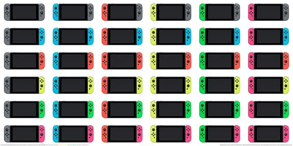 Nintendo to Release Pink and Green Joy-Cons in America