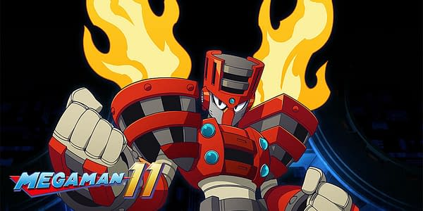 Capcom Reveals a New Mega Man 11 Enemy with Torch Man